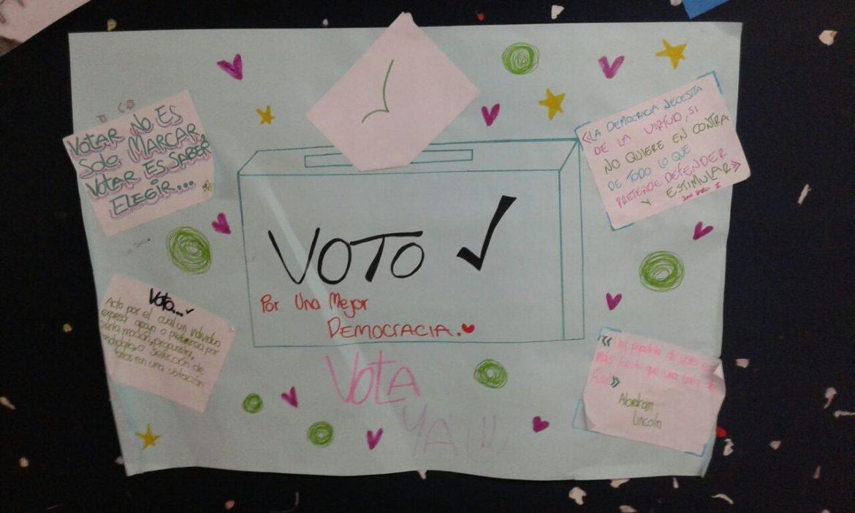 Fortaleciendo la democracia estudiantil
