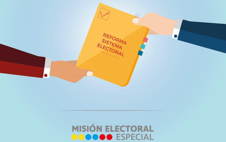 Cuadro de análisis de Arquitectura Institucional de la Reforma Política