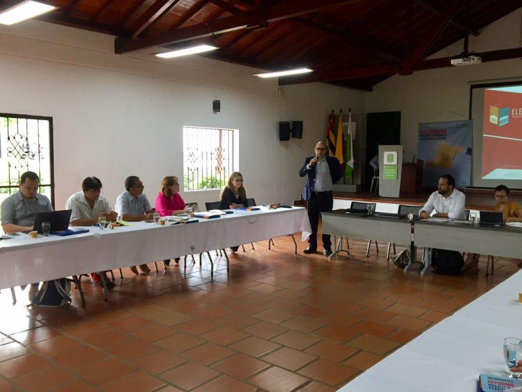 Presentación de la MEE en Bucaramanga