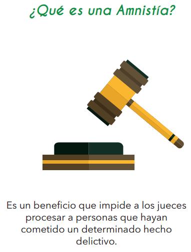 Amnistía, Indulto y Tratamientos Penales Especiales