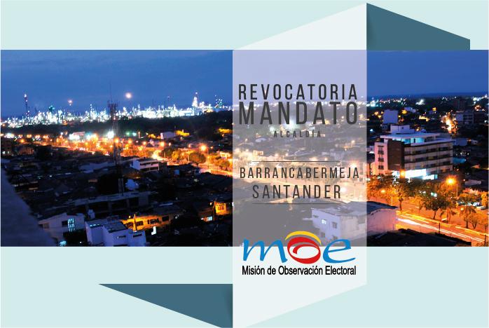 Preocupaciones sobre la Revocatoria del mandato de Barrancabermeja