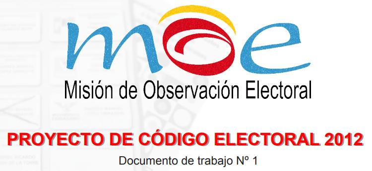 Reforma del Código Electoral 2012