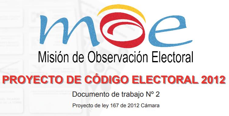 Análisis nro 2 Reforma del Código Electoral 2012