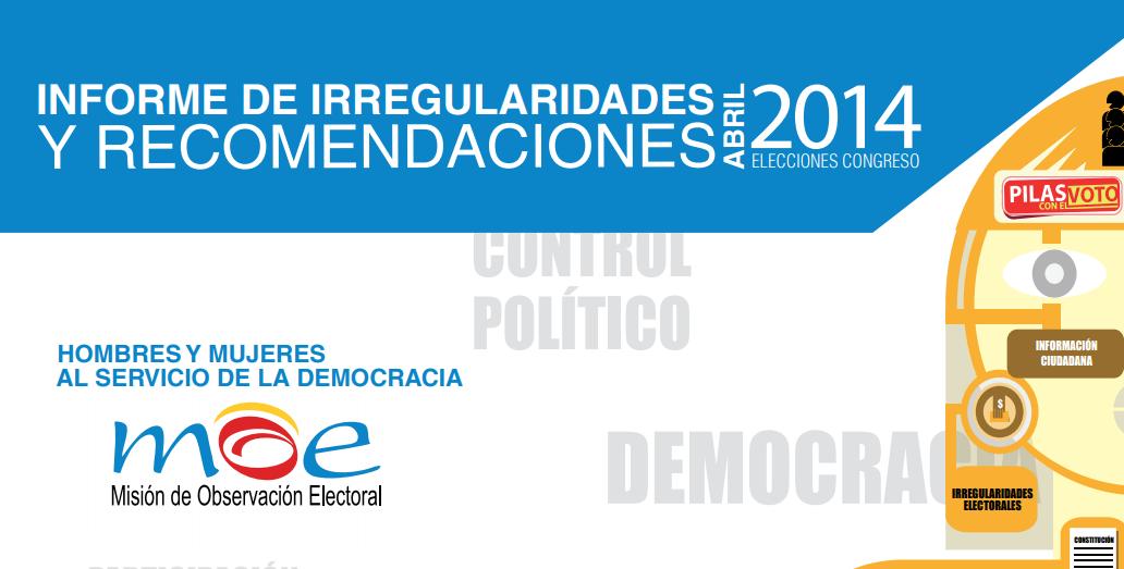 Irregularidades Elecciones Congreso 2014