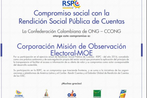 Rendición Social Pública de Cuentas