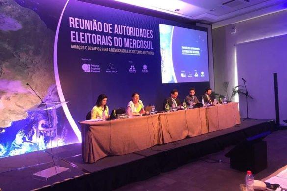 Reunión de Autoridades Electorales Brasil