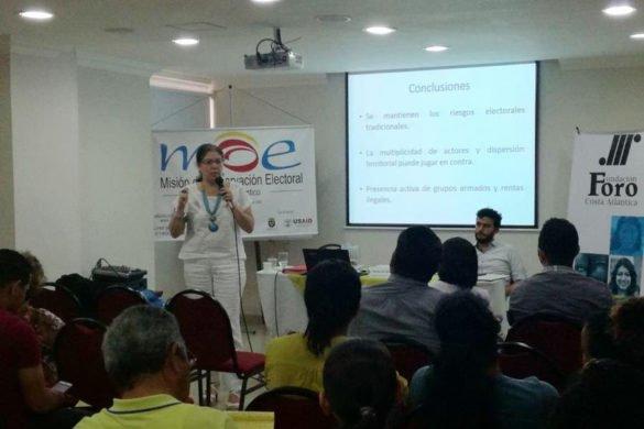 """""""Estamos en el desgobierno de la recolección de firmas"""": MOE y Transparencia por Colombia"""