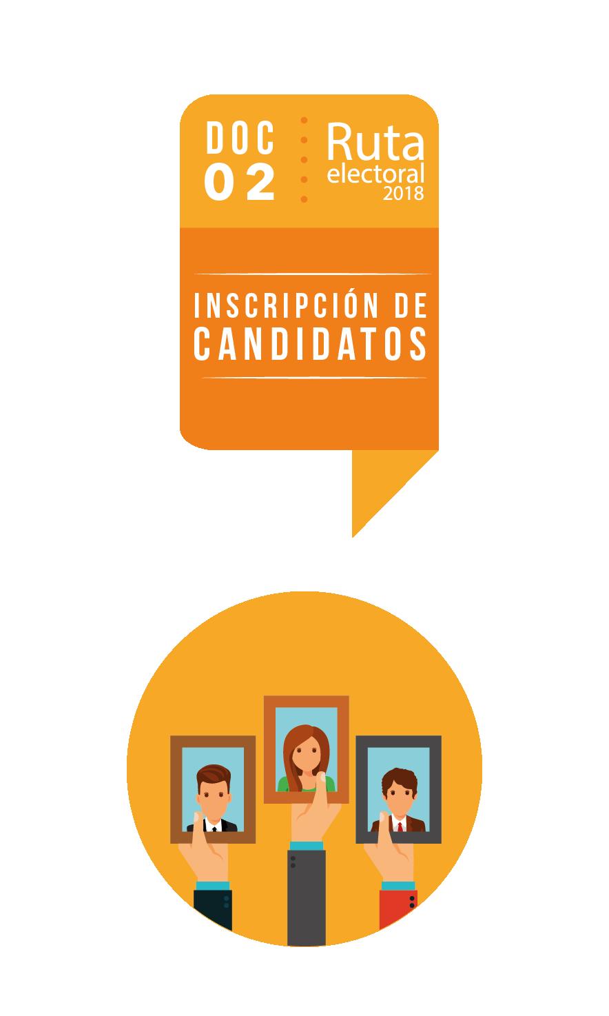 Ruta Electoral: inscripción de candidatos