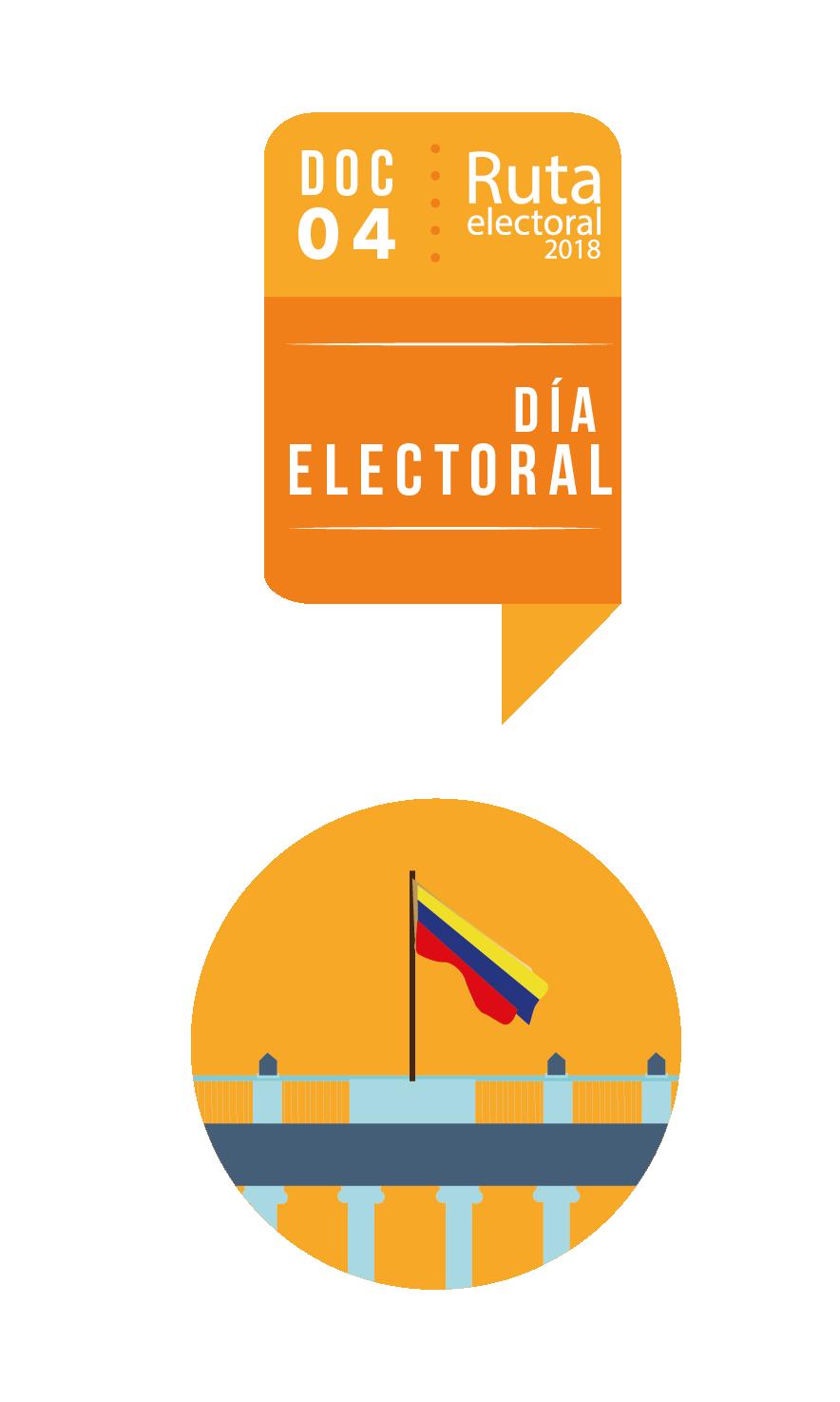 Ruta Electoral: día electoral