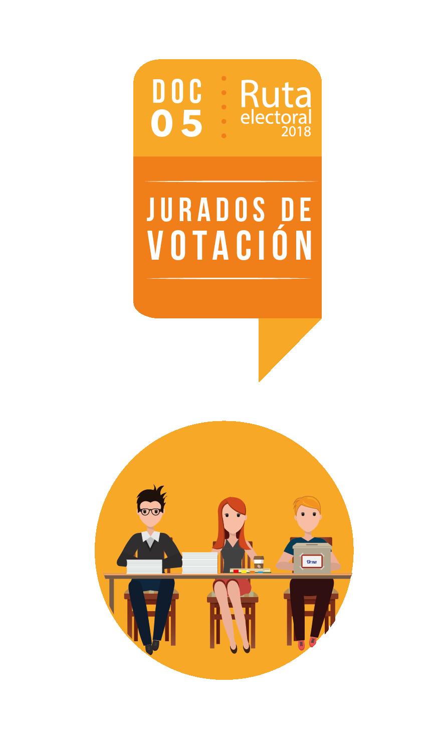 Ruta Electoral: jurados de votación