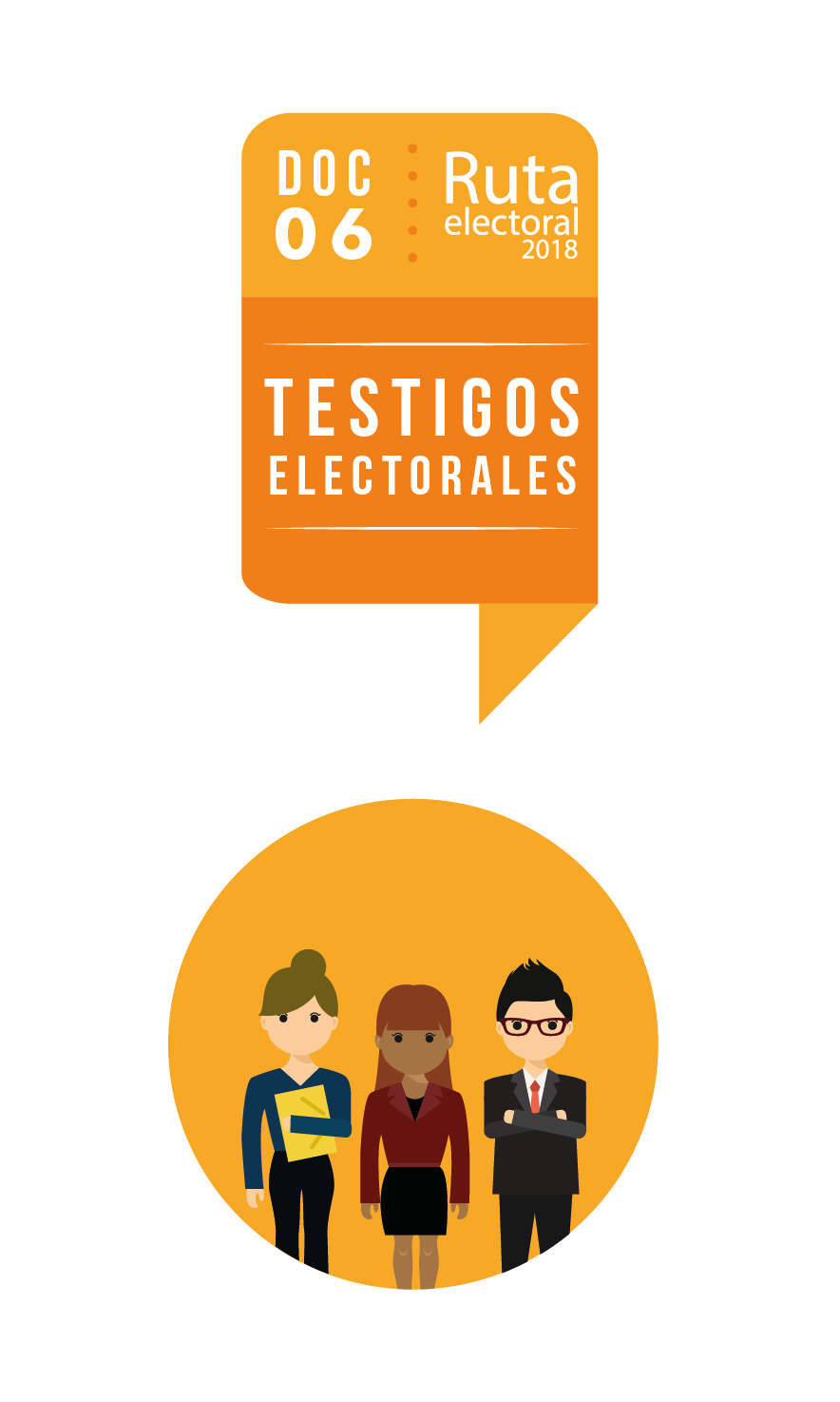 Ruta Electoral: testigos electorales