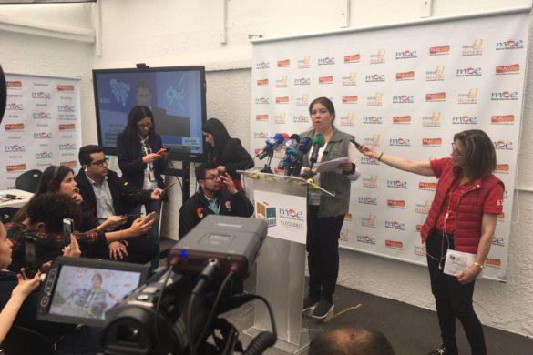Primer informe Misión de Observación Electoral MOE – Medio día