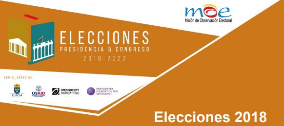 Presentación resultados electorales 2018