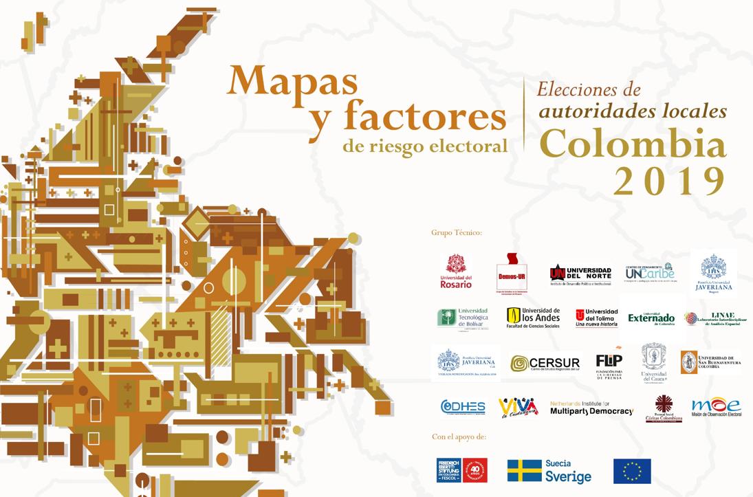 Presentación Mapas y Factores de Riesgo Electoral 2019
