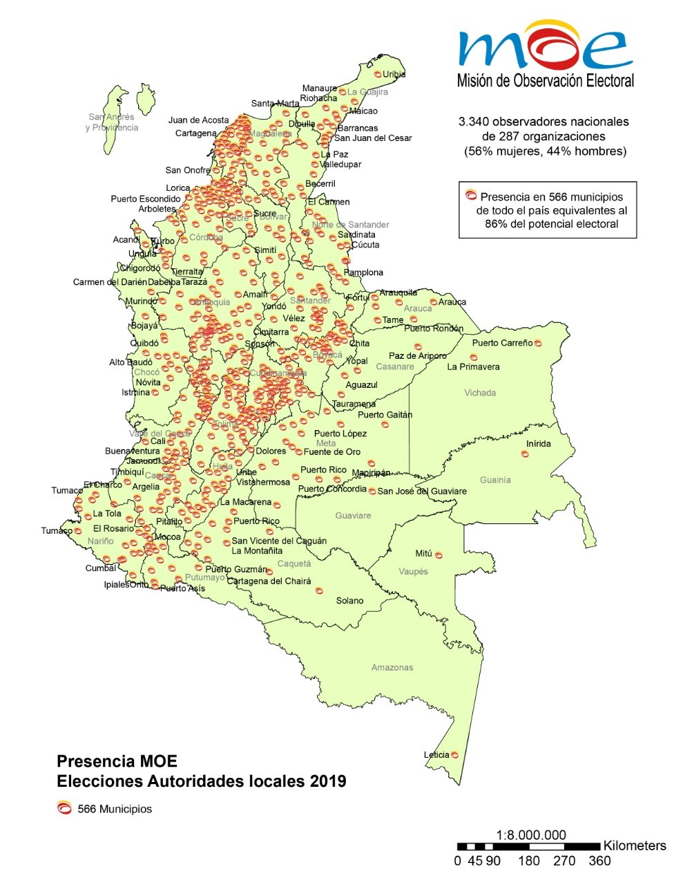 Mapa de observación MOE